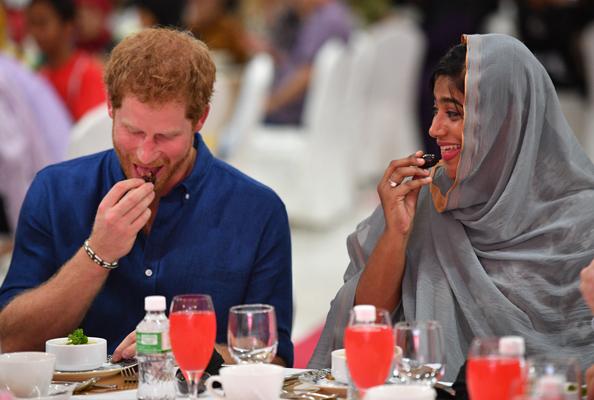 prince harry singapore iftar