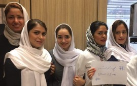 How Women Are Using Social Media To Protest Iran's Compulsory Hijab
