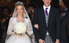 This Lebanese Designer Created A Wedding Gown Fit For A Brand-New Royal