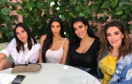 Could Huda Kattan And Kim Kardashian Be Working On A Collab?