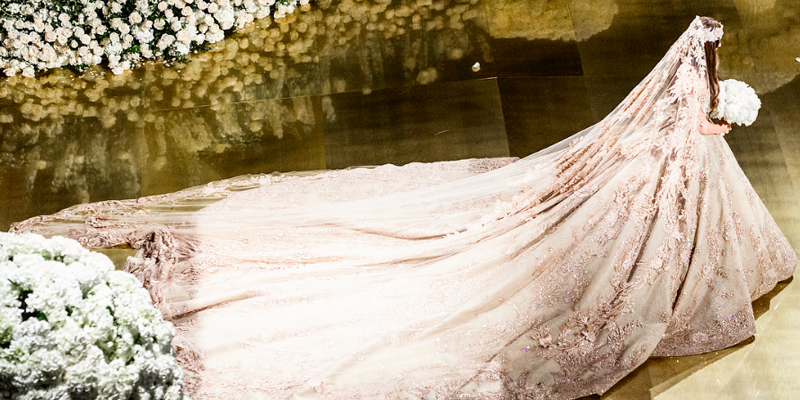 This Zuhair Murad wedding gown for Lolita Osmanova is the definition ...
