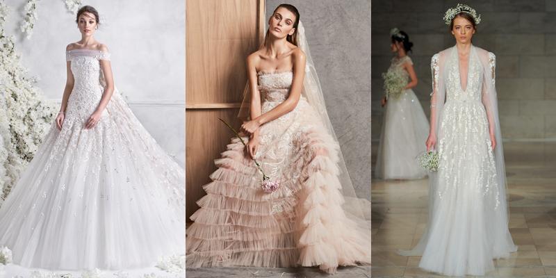 Eastern Wedding Dresses 2018