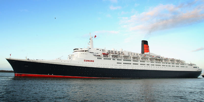 The Next 100 Years >> The Queen Elizabeth II cruise ship is set to open as a hotel in Dubai