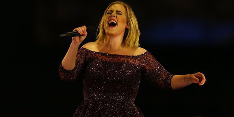 Adele fans, you'll want to see her song Skyfall in its Burj Khalifa show