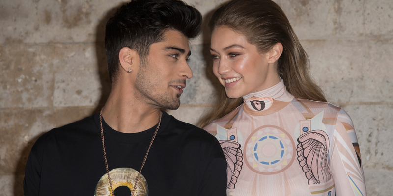 Image result for gigi and zayn