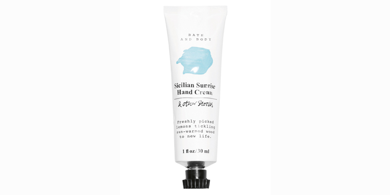 Sicilian Sunrise Hand Cream, Dhs29, & Other Stories