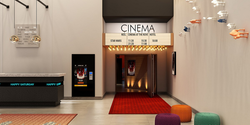 rove hotel reel cinema