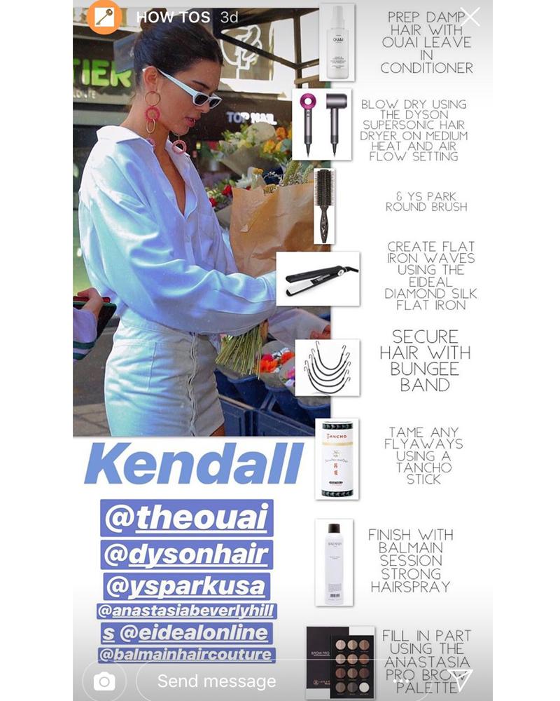Kendall Jenner Dubai