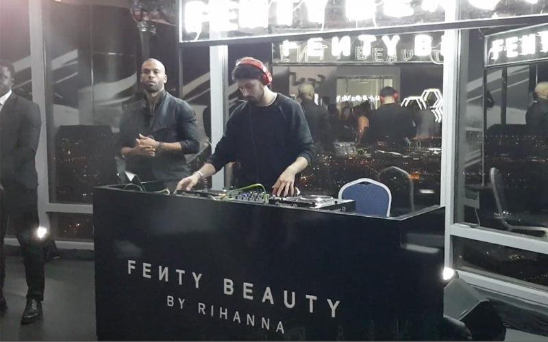 Rihanna Burj Khalifa party