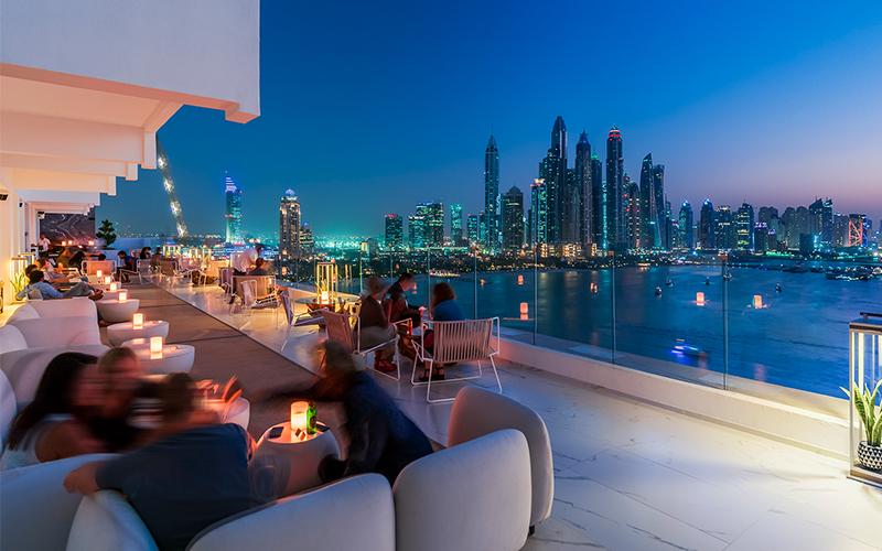 fashion-themed Dubai ladies' night