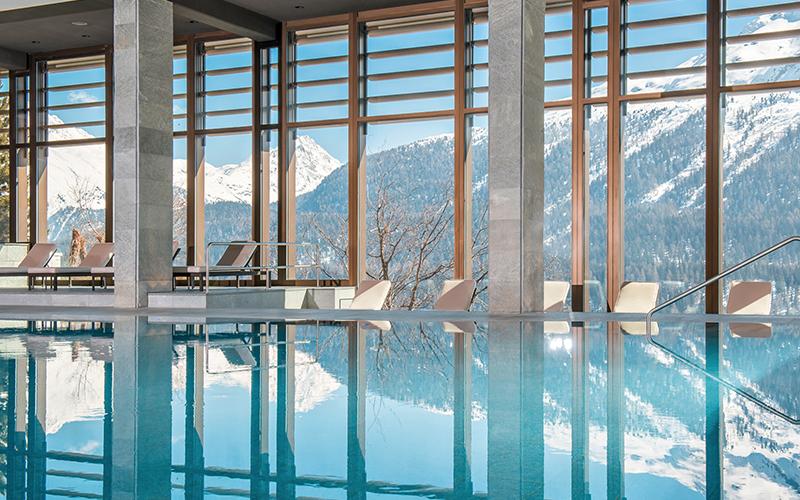 ski spa guide to Switzerland