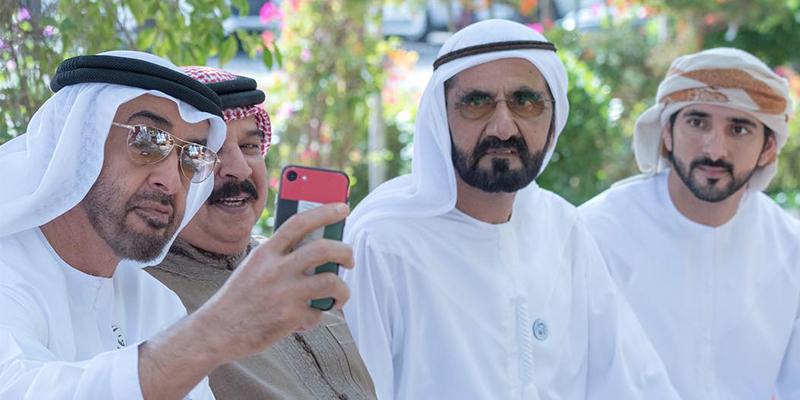 Check out this epic selfie of the UAE Royals – Emirates Woman