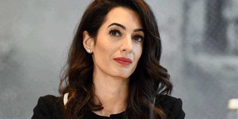 Amal Clooney quits UK role over 'lamentable' Brexit plan