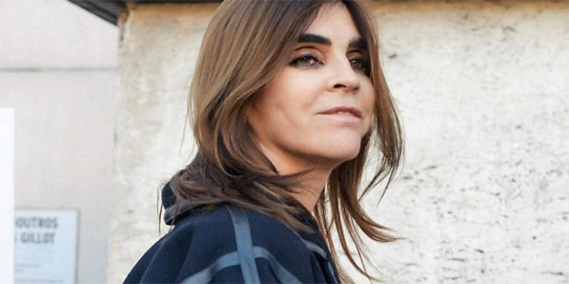 Carine Roitfeld's first fashion show celebrates our favourite decade