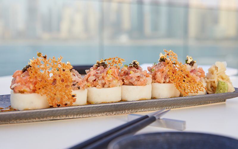 japanese restaurant DUBAI paru