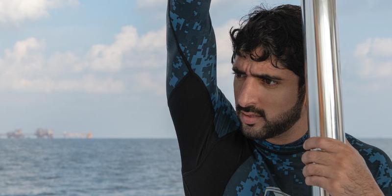 Is HH Sheikh Hamdan honeymooning in the Maldives?