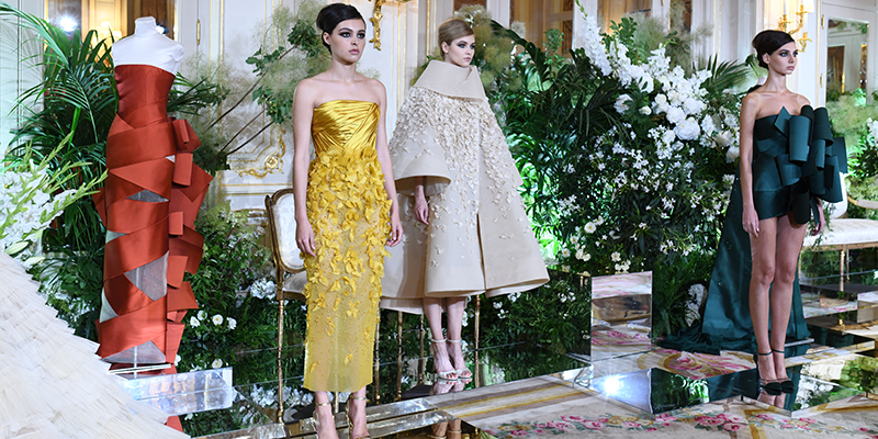 What Arab Designers Have Been Up To At Couture Fashion Week In Paris Emirates Woman
