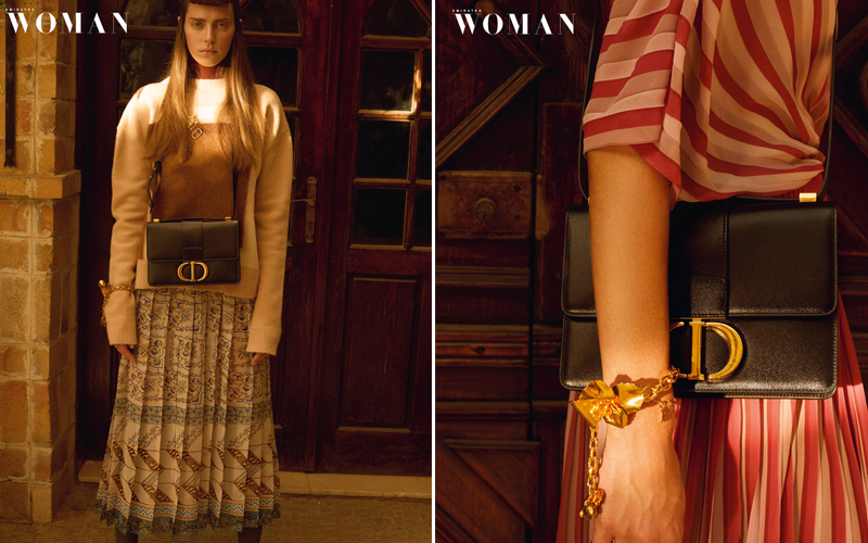 emirates woman editorial dior dubai middle east