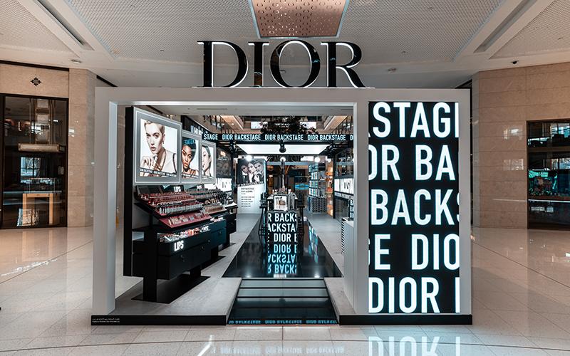 dior backstage dubai mall