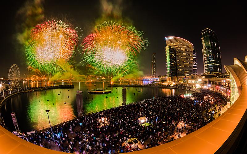dubai festival city mall national day