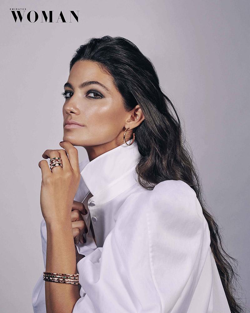 tara emad bvlgari emirates woman cover december 2019 dubai