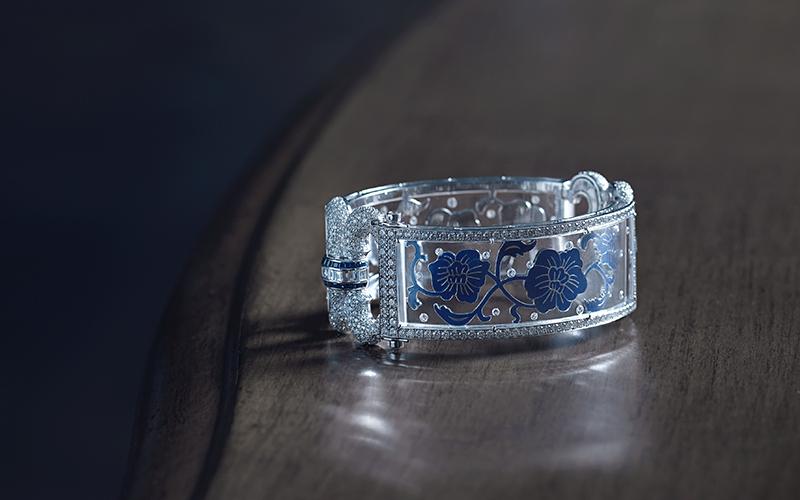 Emirati jewellery designer Aisha Baker
