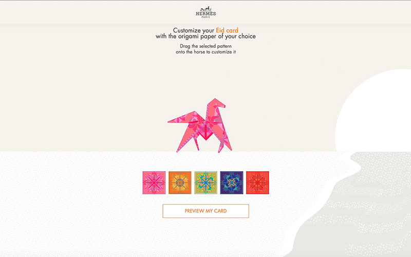hermes eid gift card 2020 emirateswoman.com