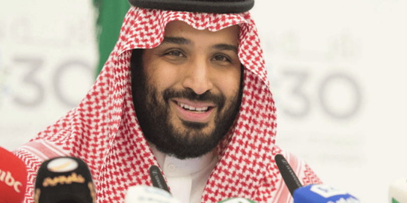 Saudi crown prince gets his first dose of COVID-19 vaccine