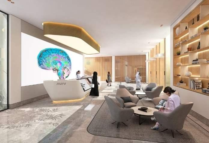 Aviv Clinics JLT interiors