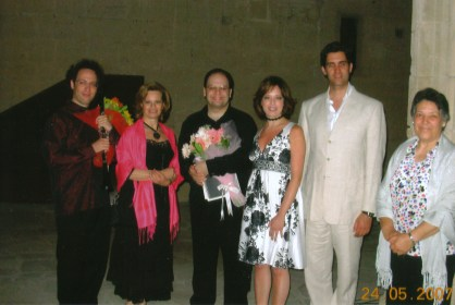 May 24th/2007 - After recital with Chen Halevi, Memet Ali Alabora & Rüya Taner