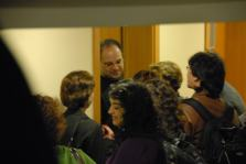 May 2nd/2008 - Meeting the audience after Goldberg Journey with Memet Ali Alabora