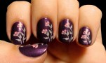 SquareHue January 2015 Nail Art Small Flowers