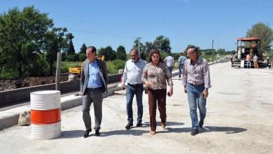 Photo of El gobernador Bordet recorrió los trabajos en la ruta provincial Nº 11