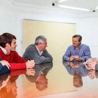 Bahl se reunió con los organizadores de la fiesta del Cordero en Oro Verde