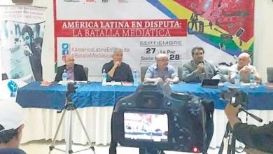 """Photo of Periodistas latinoamericanos denuncian """"Manipulación mediática sin precedentes"""""""