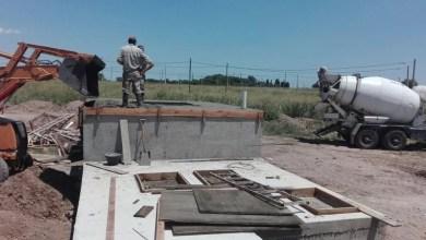 Photo of Avances de obra en la planta de efluentes y la bicisenda