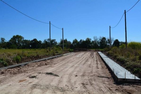 Construcción del cordón cuenta / Foto: Prensa Municipal