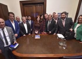 Cristina recibió a productores citrícolas acompañados por Urribarri