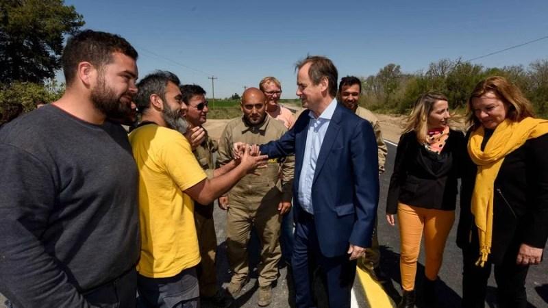 Imágenes de la inaguración de la ruta Oro Verde – Tezanos Pinto