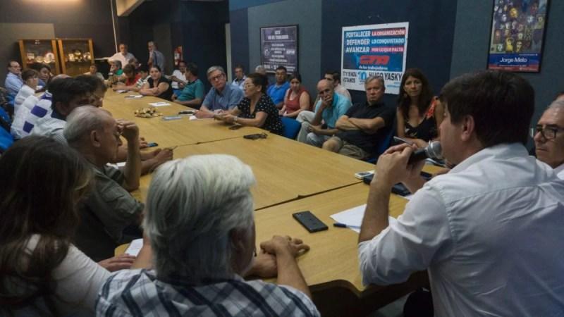 La Corriente Nacional por la Producción y el Trabajo realizó su primer encuentro
