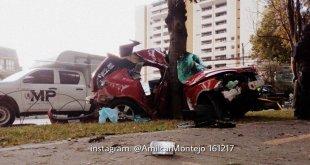 Accidente Avenida Reforma Emisoras Unidas EU Guatemala