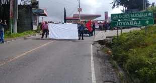manifestacion bloqueo chitatul fuera jimmy