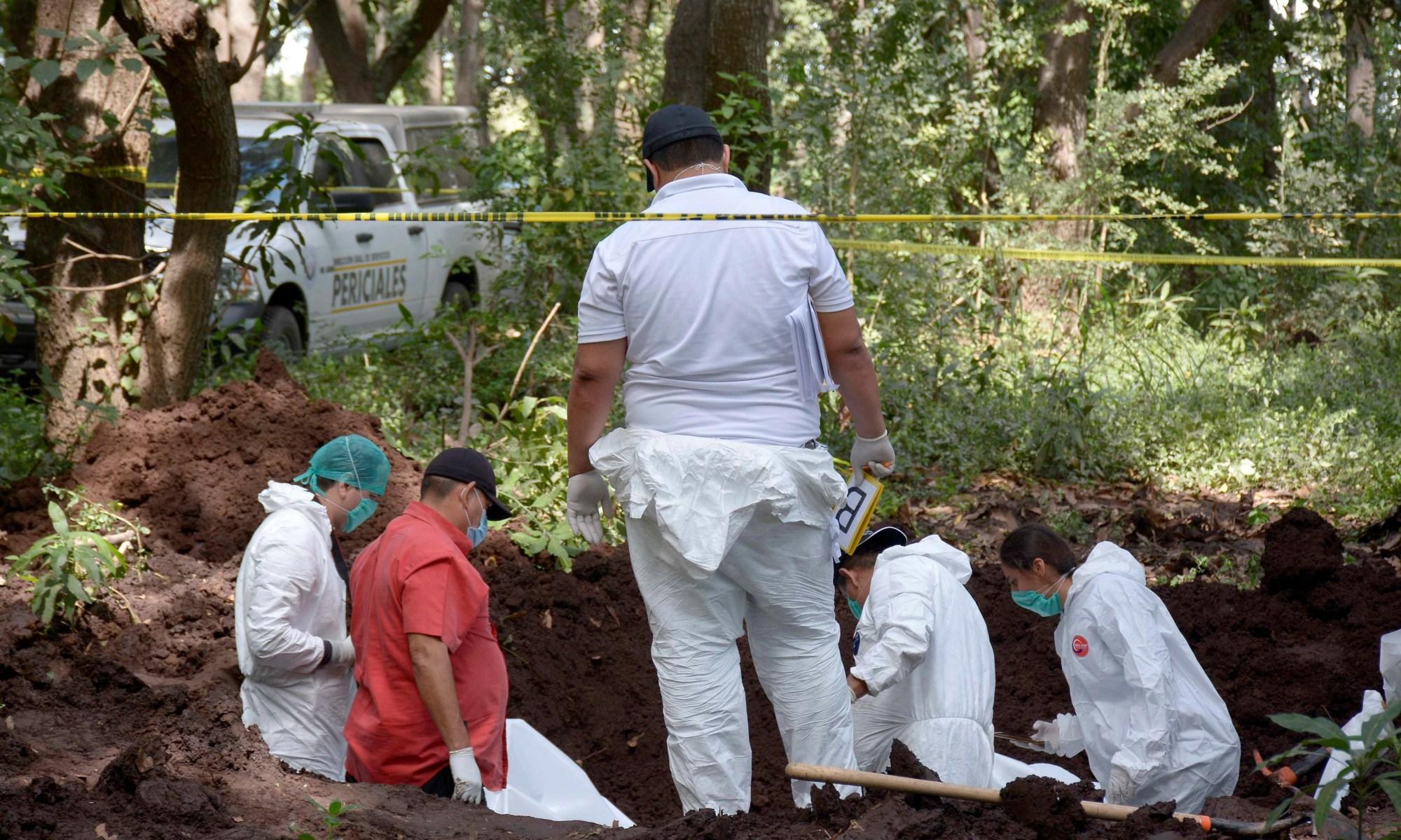 Fosas clandestinas en México. Foto: EFE