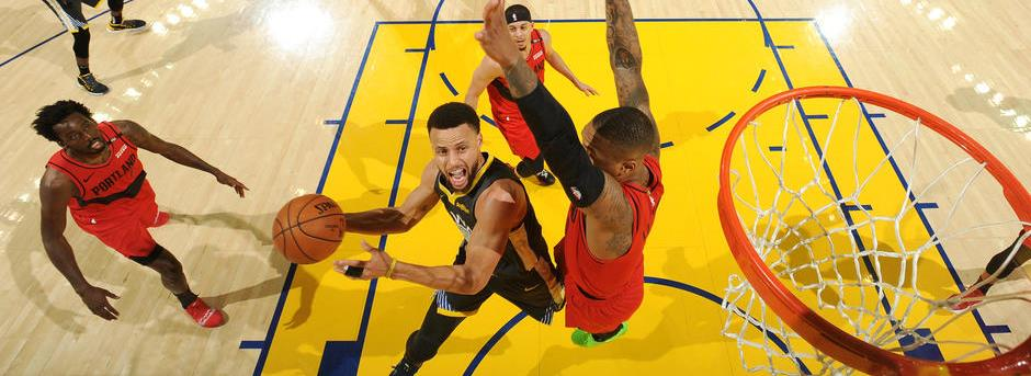 5ae86aaacf01 Warriors vs Blazers 2019 WCF Game 2 Video Highlights - EMI Sports Central