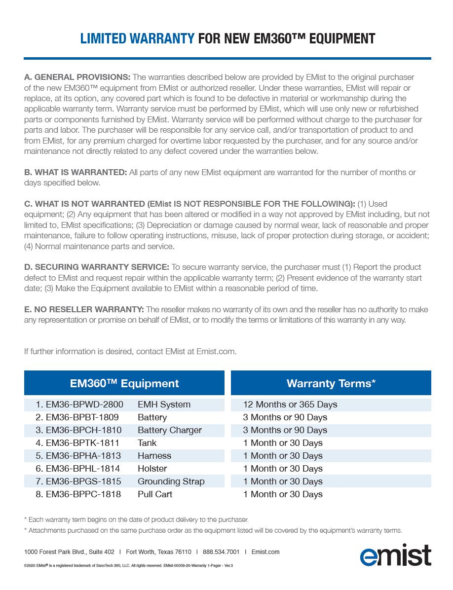 EM360 Warranty PDF image thumbnail