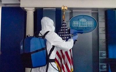 White House uses EMist Electrostatic Sprayers