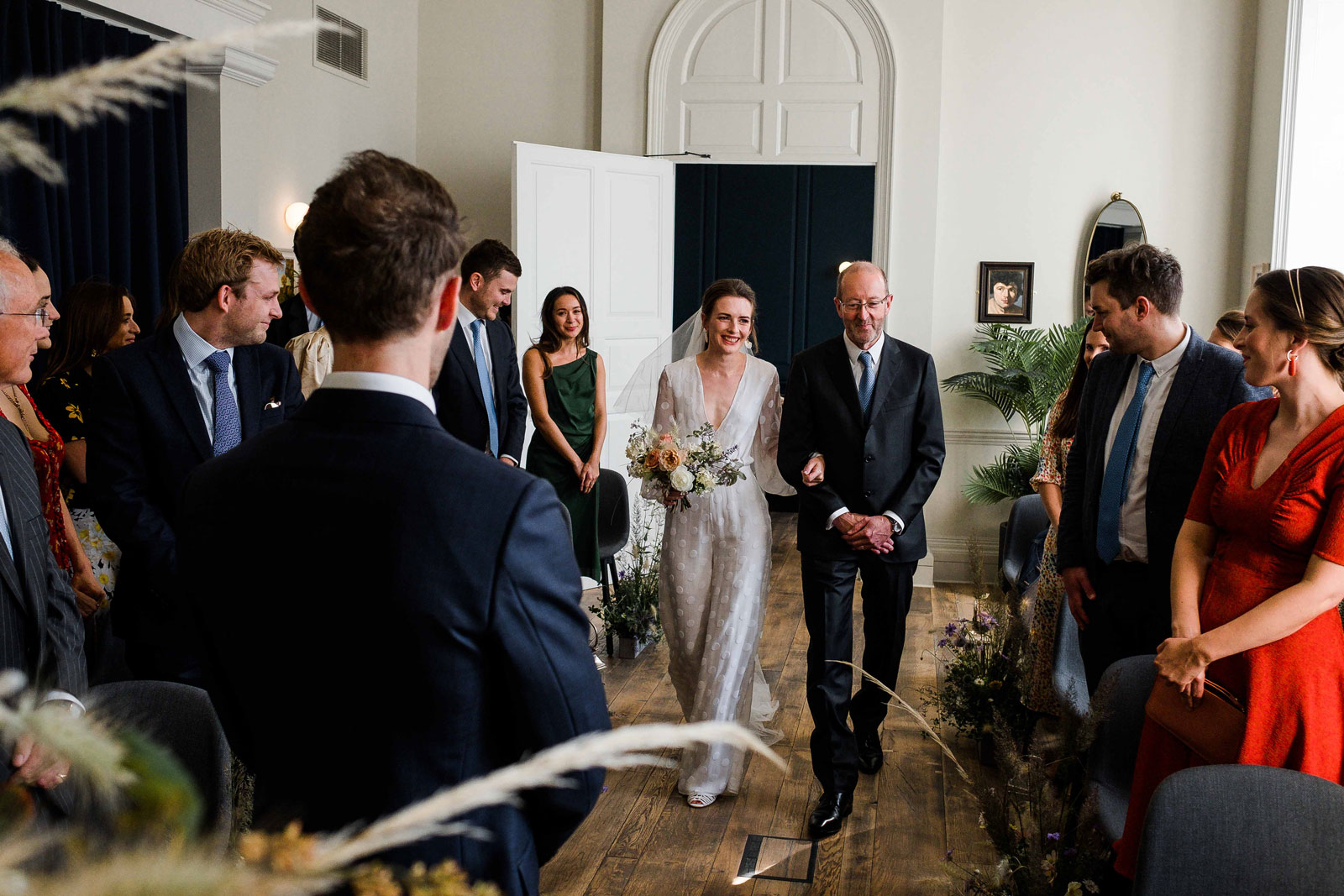 wedding ceremony at kindred hall london