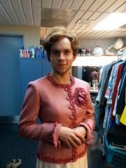 Vera Carp wig fitting