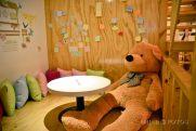 hug a bear at cafe namoo