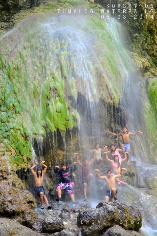 wacky at tumalog falls oslob cebu